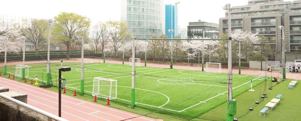 渋谷区にあるフットサルコート | 東京体育館フットサルコート