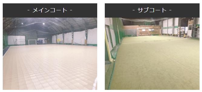 北海道札幌市のフットサルコート【フッチ・スポーツパークPIVO 】のコート